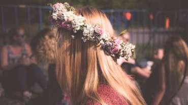 couronnes de fleurs mariage